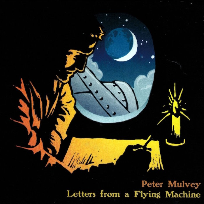 peter mulvey - letters from a flying machine record cover
