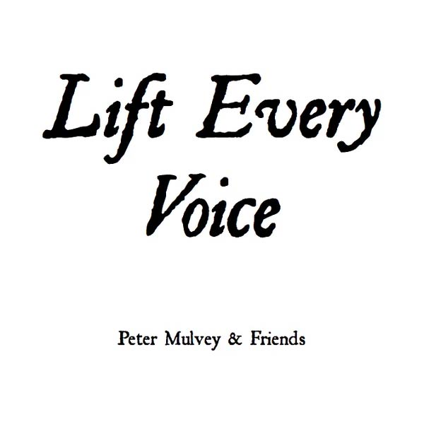 peter mulvey lift every voice ep cover